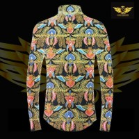 KATUN TULIS NON POLA motif 9 bahan kain batik tulis solo kemeja pria