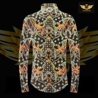 KATUN TULIS NON POLA motif 4 bahan kain batik tulis solo kemeja pria