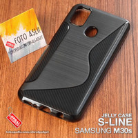 Soft Jelly Case Samsung M30s M21 Softcase Silicon Silikon Casing Cover