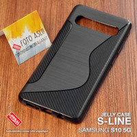 Soft Jelly Case Samsung S10 5G Softcase Silicon Silikon Casing Cover