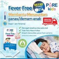 PURE KIDS FEVER FREE PUREKIDS BABY PLESTER DEMAM PANAS BAYI ANAK 4PCS
