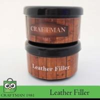 leather filler (leather repair kit) dempul reparasi bahan kulit