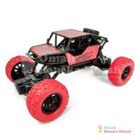 Mainan Remote Control Monster Truck - RC Buggy Climbing King - Merah