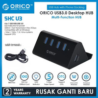 USB HUB ORICO SHC U3 4 Port USB 3.0 HUB with Phone / Tablet DOCKING