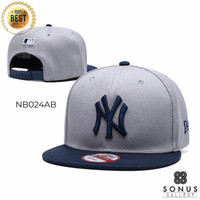 TOPI SNAPBACK IMPORT NEW ERA NEW YORK NY MLB | HIGH QUALITY BORDIR NY2
