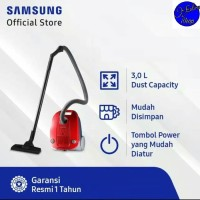 SAMSUNG Canister Vacuum Cleaner VCC4130S37/XSE