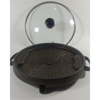 Bulgogi BBQ GRILL PAN / Alat Panggang Bakar Grill 32 Cm