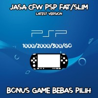 Jasa CFW PSP Fat/Slim Latest Version Bonus Games