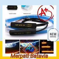 Lampu Alis Mobil Avanza Ertiga Car LED DRL + SEN SIGN (isi 2 / R-L)