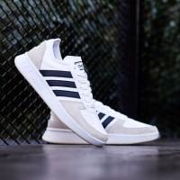 Sepatu Adidas Court 80s White Black Original