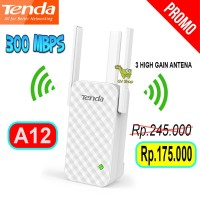Wireless Wifi Router Tenda A12 Repeater Extender 300Mbps