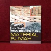 Buku Arsitek - Cara Praktis Menghitung Kebutuhan Material Rumah