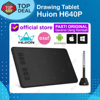 Huion H640P Graphic Drawing Pen Tablet For OSU Game alt HS64