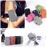 Sport Arm Bag Pouch For Keyholder,Hp / Tas Jogging Lengan Outdoor