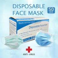 Masker Medis 3ply Disposable face mask 3play face mask