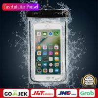 Tempat Hp Anti Air Mobil Waterproof Bag Sarung Tas Anti Air Ponsel - Hitam