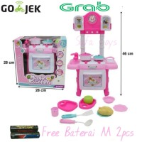 Magic Kitchen Mainan anak perempuan Alat Dapur dapuran