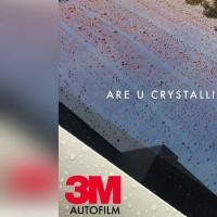 kaca film 3M Crystalline khusus kaca depan