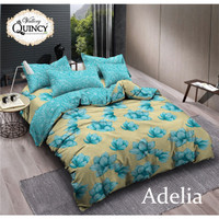 (jourellproject) Bed Cover Vallery Quincy Motif ukuran 180x200