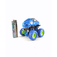 Mainan Stunt Dinosaur Car Inertial 4WD Off Road Mobil Rs6660E