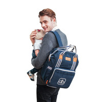 Dialogue Baby Tas Ransel + Cooler Bag Classy Series Perlengkapan Bayi