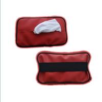 MERAH tempat tissue mobil - Penjepit Kotak Tisu Mobil