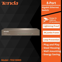 Tenda Switch Hub TEG1008D 8 Port Switch Ethernet