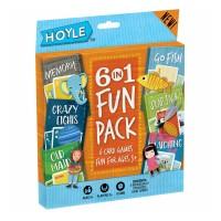 6in1 Fun Pack Kids Card Game