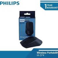 MOUSE WIRELESS PHILIPS M-374