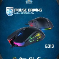 Mouse Gaming Philips G313