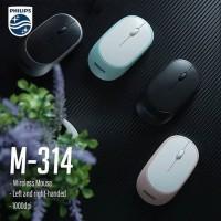 Mouse wireless philips M314 silent click & slim - philips spk-7314