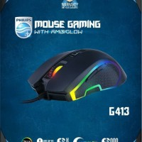 Philips G413 Mouse Gaming RGB