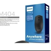 Philips M404 PH-SPK7404 2.4GHz Wireless Mouse Optical Sensor Original