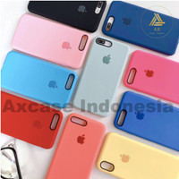 Premium Silicone Case iPhone 6 / 6s Softcase Polos Casing Soft Case