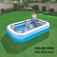 Kolam renang anak & keluarga 262cm rectangular family pool besar 54006