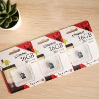 Micro SD CARD Kingston 16GB CLASS 10 Memory Card ORIGINAL