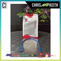 KABEL USB MICRO MALE TO USB 2.0 FEMALE BEST 30 CM Promo