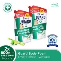 Biore Body Foam Lively Refresh 800 ML Twinpack