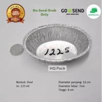 Alumunium foil cup oval 1225 + Tutup macaroni schotel,dll