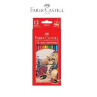 Kelir Warna / Pensil Warna Faber-Castell Classic Colour Pencil 12warna