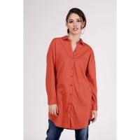 Kemeja Lengan Panjang / Daria Teracota Shirt 23422T5TC - Bodytalk