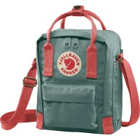 Tas Selempang Fjallraven Kanken Sling Shoulder Bag Frost Green Peach