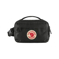 Tas Selempang Fjallraven Kanken Hip Pack Color Black