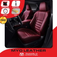SARUNG / COVER JOK MAZDA 2 BAHAN MYO LEATHER 100% ORIGINAL