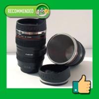 Lens Cup Mug Stainless - Gelas Cangkir Lensa Tahan Panas
