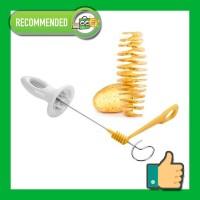 Spiral Potato Cutter Tescoma Presto 4 Spits - Alat Pemotong Kentang
