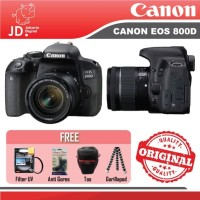 Canon EOS 800D Kit 18-55mm IS STM Paket Tas