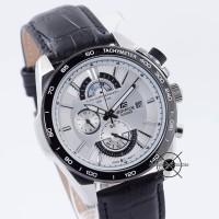 Jam tangan Pria Casio Edifice EFR-520 EFR-520L-7AV Kulit EFR520 ORI BM