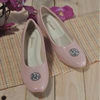 Sepatu kantor formal perempuan high heels ukuran 35-43 pink ER 058