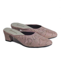 Sepatu pengantin wedding shoes perempuan ukuran 35-43 ER 033